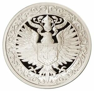 2 oz Silver Round - Destiny Coin Knight: The Raven - BACKORDER