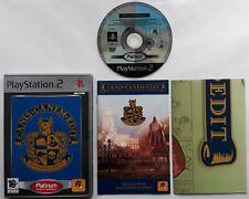 PS2 - Canis Canem Edit w/ map (PAL) Platinum PlayStation