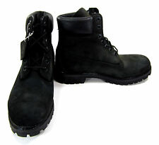 Timberland Shoes 6 Inch Premium Black Boots Size 8 EUR 41.5