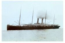 ORIZABA 1886 of PSN Co & Orient S N Co Digital Photo tinted Postcard Modern