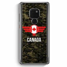Canada Kanada Camouflage mit Schriftzug Huawei Mate 20 Hülle Motiv Design Mil...