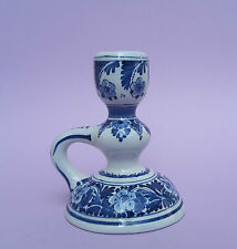 De Porceleyne négociées Joost THOOFT Chandelier avec motif floral cf 1961 Delft