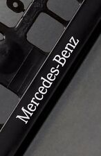 2 x Mercedes Euro License Number Plate Frame Holder