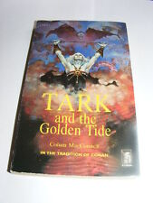 Tark & The Golden Tide by Colum MacConnell PB 1977 fantasy novel like CONAN   AE