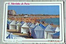 Post Card. S. MARTINHO DO PORTO COSTA DE PRATA .PORTUGAL. c1991