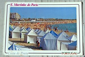Post Card. S. MARTINHO DO PORTO COSTA DE PRATA .PORTUGAL. c1991