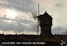 BT1240 presqu ile de guerande le moulin du diable moulin a vent windmill france