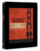 DJANGO UNCHAINED Jamie Foxx Blu Ray Steelbook Limitiert Geprägt