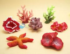 7pcs Artificial Plant Coral Fake Coral Ornament Deco for Aquarium Fish Tank K620