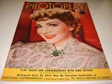 PHOTOPLAY MAGAZINE FEBRUARY 1939 CLAUDETTE COLBERT (481)