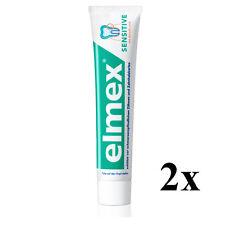Elmex Sensitive Toothpaste - 2x 75 ml  - Medical Toothpaste - Origin Germany