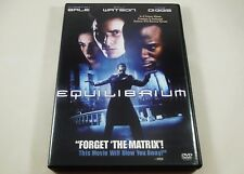 Equilibrium DVD Christian Bale, Emily Watson, Taye Diggs, Angus Macfadyen
