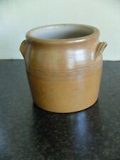 More details for vintage french stoneware brown confit pot -no 1