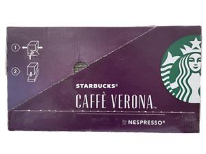 BULK 120 Starbucks Caffe Verona Espresso Capsules by Nespresso (BB 06/21)