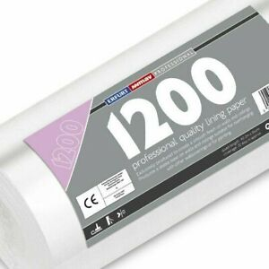 Erfurt Mav 1200 Single Lining Paper Pro Hide Defects Wall 10M Roll (3098)