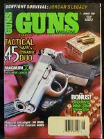 Guns Magazine August 1998 .45 Tactical S&W's Dynamic Duo