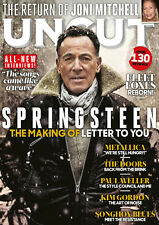BRUCE SPRINGSTEEN - UNCUT MAGAZINE - DECEMBER 2020 - BRAND NEW - FREE CD