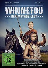 WINNETOU - DER MYTHOS LEBT  3 DVD NEU