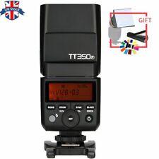 UK Stock Godox Mini 2.4G TTL HSS TT350F Camera Flash Speedlite for Fuji Cameras