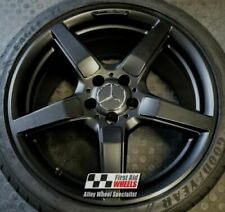AMG Car Powder Coated Rims