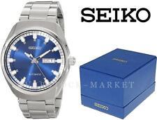 NEW I/B MEN'S SEIKO RECRAFT SERIES AUTOMATIC SELF WIND ANALOG WATCH! SNKN41 $250