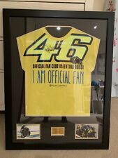 Valentino Rossi Signed And Framed T-shirt With COA - Superbike Autograph The Doc