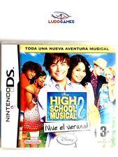 High School Musical 2 vive el verano PAL/SPA Nintendo DS Nuevo Precintado Retro
