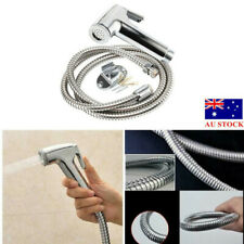 Toilet Handheld Stainless Steel Bidet Spray Shower Sprayer Kit Bathroom Tool AU
