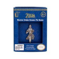 Nintendo Legend of Zelda Breath of the Wild Master Sword Logo Badge Enamel Pin