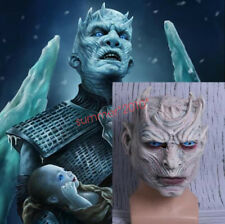 Game of Thrones Mask Cosplay Night's King Full Latex Overhead Handmade Holloween