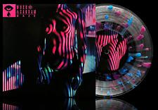 "w u s o 命 & Sangam - Gaze 7"" Vinyl Record Nightly Blur Splatter Vaporwave"