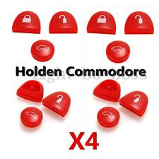 4 Sets Red Key FOB Buttons Repair for Holden Commodore VS VT VX VY VZ WH WK WL