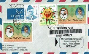 Pakistan-dekorat. R-Beleg