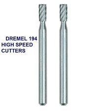 5 NEW AUTHENTIC DREMEL HIGH SPEED CUTTER BIT #194 HIGH GRADE STEEL