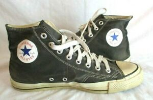 VINTAGE MADE IN USA HIGH TOP CONVERSE ALL STAR CHUCK TAYLOR MEN'S SHOES SIZE 9