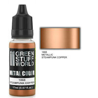 Metallic Paint STEAMPUNK COPPER 17ml - acrylic brush airbrush modelling hobby