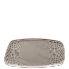 Rosenthal - Junto Pearl Grey - Plato cm rectangular 30x15 - Detallista