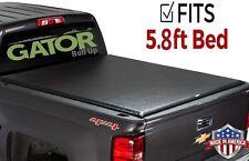 Gator ETX Roll-Up (fits) 2014-2018 Silverado Sierra 5.8 FT Tonneau Bed Cover
