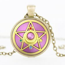 SAILOR MOON STAR ANIME PENDANT NECKLACE / Jewellery Gift Idea Cosplay Cartoon