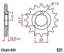 KR Ritzel 15Z Teilung 630 KAWASAKI Z 1000 A 77-79 New... front sprocket