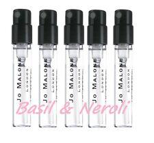 5 Jo Malone Basil & Neroli Sample Spray 1.5ml Cologne
