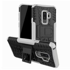 Hybrid Case 2teilig Outdoor Weiß Tasche Hülle für Samsung Galaxy S9 Plus G965F