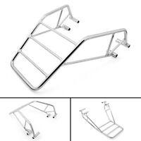 Chrome Sissy Bar Backrest Luggage Rack For Honda Nighthawk CB 250 T05