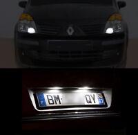 4 ampoules à LED blanc Veilleuses / Feux de plaque Renault Modus Grand Modus