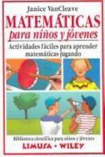 Matematicas para ninos y jovenes : Actividades faciles para aprender m-ExLibrary