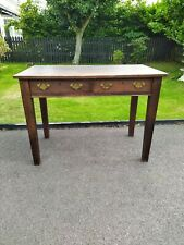 More details for arts and crafts 2 drawer side table