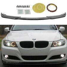 Fits 09-11 BMW E90 LCI 3-Series Sedan H Style Front Bumper Lip Spoiler Body Kit