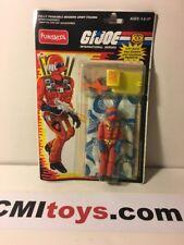 GI Joe Rare Funskool Cobra Rattler Pilot Wild Weasel w/ Parachute figure carded