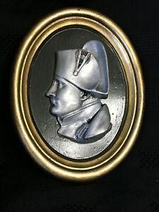 Emperor Napoleon Bonaparte - French Plaster Relief Médallion Napoléon