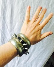 Tribal Kuchi Spike Cuff Bracelet. Punk Goth Boho. SINGLE